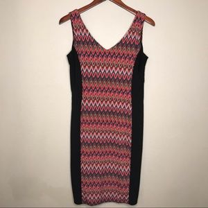 Ronni Nicole Dress black and red size 10